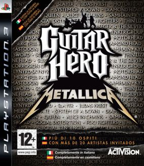 Copertina del gioco Guitar Hero: Metallica per PlayStation 3
