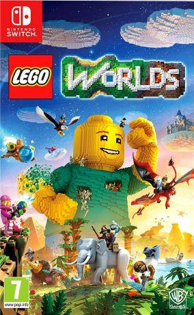 Immagine della copertina del gioco LEGO Worlds per Nintendo Switch