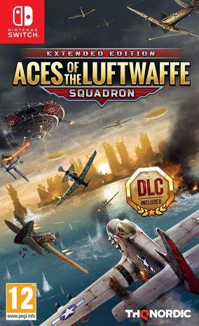 Copertina del gioco Aces of the Luftwaffe per Nintendo Switch