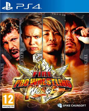 Copertina del gioco Fire Pro Wrestling World per PlayStation 4