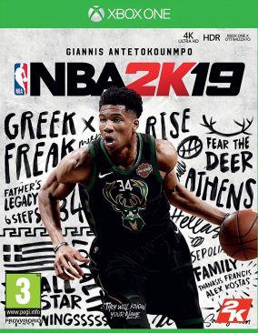 Copertina del gioco NBA 2K19 per Xbox One