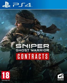 Copertina del gioco Sniper Ghost Warrior Contracts per PlayStation 4