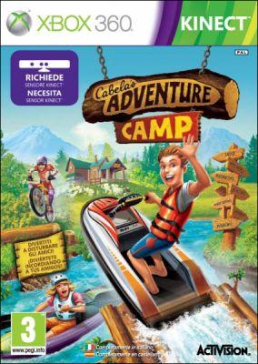 Copertina del gioco Cabela's Adventure Camp per Xbox 360