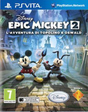 Immagine della copertina del gioco Epic Mickey 2: L'Avventura di Topolino e Oswald per PSVITA