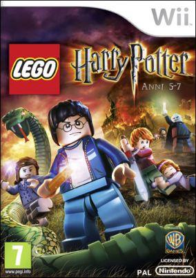 Immagine della copertina del gioco LEGO Harry Potter: Anni 5-7 per Nintendo Wii