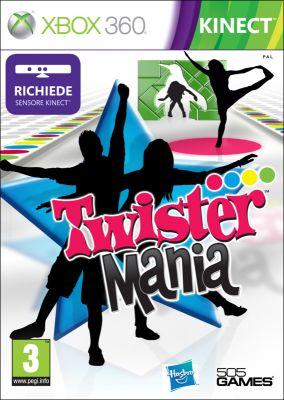 Copertina del gioco Twister Mania per Xbox 360
