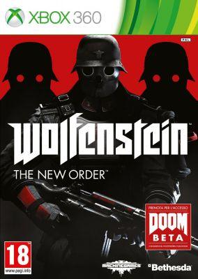 Copertina del gioco Wolfenstein: The New Order per Xbox 360