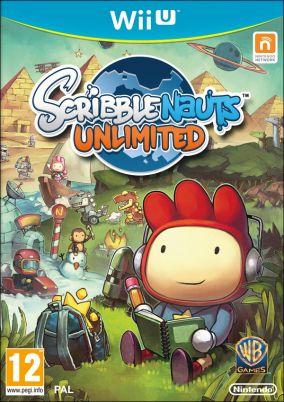 Immagine della copertina del gioco Scribblenauts Unlimited per Nintendo Wii U