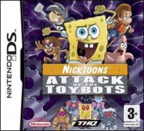 Immagine della copertina del gioco Nicktoons - Attack of the Toybots per Nintendo DS