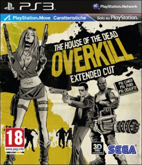 Copertina del gioco The House of the Dead: Overkill - Extended Cut per PlayStation 3
