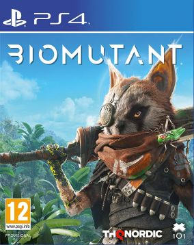 Immagine della copertina del gioco Biomutant per PlayStation 4