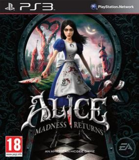 Copertina del gioco Alice: madness returns per PlayStation 3