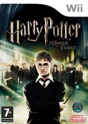 Immagine della copertina del gioco Harry Potter e l'Ordine della Fenice per Nintendo Wii