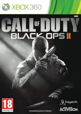 Copertina del gioco Call of Duty Black Ops II per Xbox 360