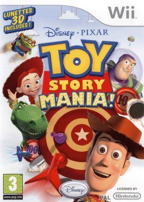 Immagine della copertina del gioco Toy Story Mania! per Nintendo Wii