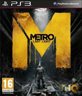 Copertina del gioco Metro: Last Light per PlayStation 3