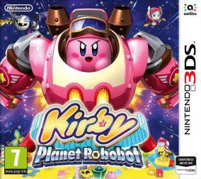 Copertina del gioco Kirby: Planet Robobot per Nintendo 3DS