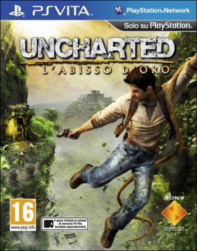 Copertina del gioco Uncharted: L'abisso d'oro per PSVITA