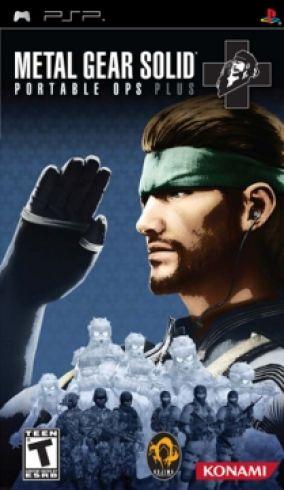 Immagine della copertina del gioco Metal Gear Solid: Portable Ops Plus per PlayStation PSP