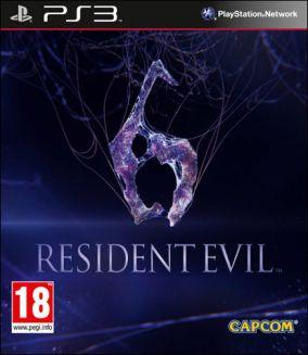 Immagine della copertina del gioco Resident Evil 6 per PlayStation 3