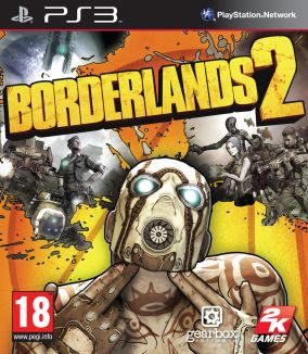 Copertina del gioco Borderlands 2 per PlayStation 3