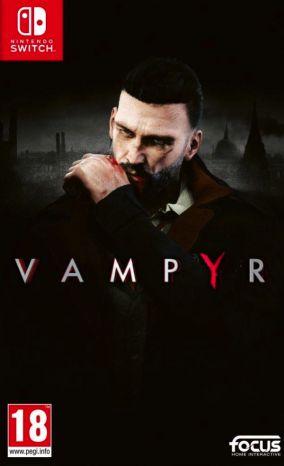 Immagine della copertina del gioco Vampyr per Nintendo Switch