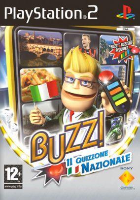 Immagine della copertina del gioco Buzz! Il Quizzone Nazionale per PlayStation 2