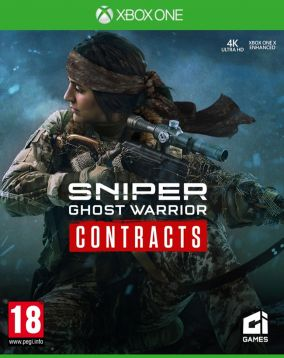 Copertina del gioco Sniper Ghost Warrior Contracts per Xbox One