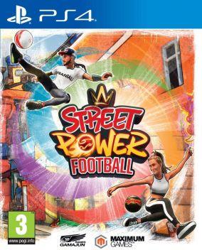 Immagine della copertina del gioco Street Power Football per PlayStation 4