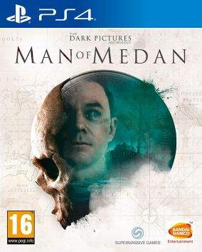 Copertina del gioco The Dark Pictures Anthology - Man of Medan per PlayStation 4