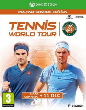 Copertina del gioco Tennis World Tour - Roland-Garros Edition per Xbox One