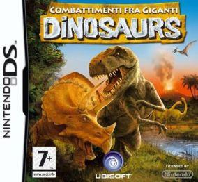 Immagine della copertina del gioco Dinosaurs: Combattimenti fra Giganti per Nintendo DS