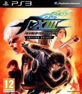 Copertina del gioco The King of Fighters XIII per PlayStation 3