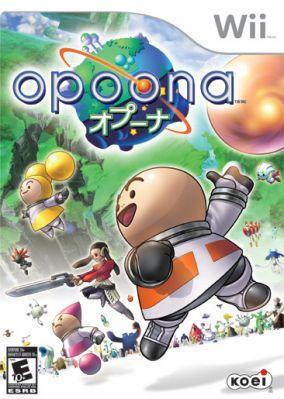 Immagine della copertina del gioco Opoona per Nintendo Wii