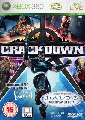 Copertina del gioco Crackdown per Xbox 360