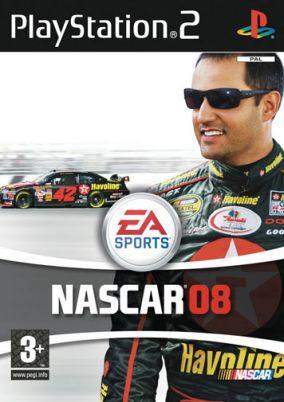 Immagine della copertina del gioco Nascar 08 per PlayStation 2