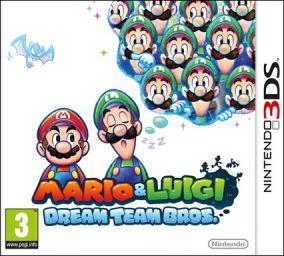 Immagine della copertina del gioco Mario & Luigi: Dream Team Bros per Nintendo 3DS