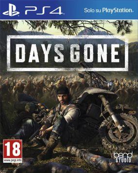 Immagine della copertina del gioco Days Gone per PlayStation 4