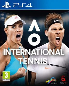 Copertina del gioco AO Tennis 2 per PlayStation 4