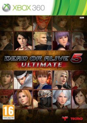 Copertina del gioco Dead or Alive 5 Ultimate per Xbox 360