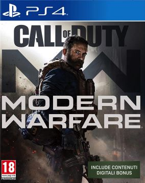 Copertina del gioco Call of Duty: Modern Warfare per PlayStation 4