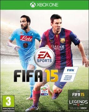 Immagine della copertina del gioco FIFA 15 per Xbox One