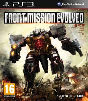 Copertina del gioco Front Mission Evolved per PlayStation 3