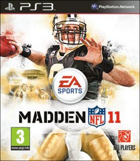 Copertina del gioco Madden NFL 11 per PlayStation 3