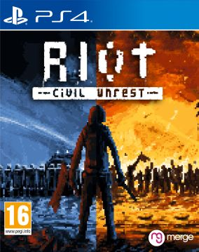 Copertina del gioco RIOT: Civil Unrest per PlayStation 4