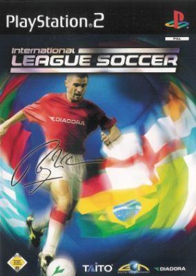 Copertina del gioco International league soccer per PlayStation 2