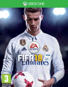 Immagine della copertina del gioco FIFA 18 per Xbox One