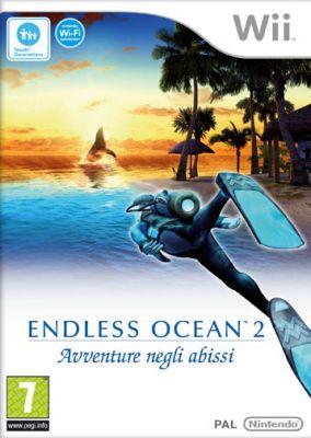 Immagine della copertina del gioco Endless ocean 2 Avventure Negli Abissi per Nintendo Wii