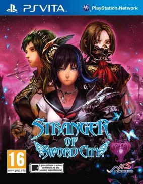 Immagine della copertina del gioco Stranger of sword city per PSVITA