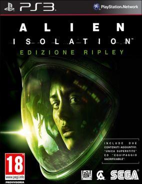 Copertina del gioco Alien: Isolation per PlayStation 3